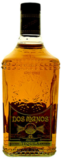 Dos Manos Tequila Anejo 1.75l - Case of 6
